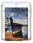 Blues - Boat Duvet Cover