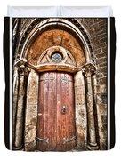 Bronze - Old Door Duvet Cover