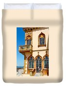Ca D Zan  Winter Home Of John And Mable Ringling Duvet Cover