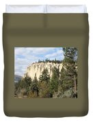 Canadian Rocky Mountain Hoodoos Bc Duvet Cover