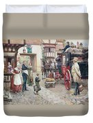 David Copperfield Goes To School Duvet Cover