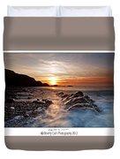 Golden Days Duvet Cover