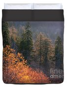 Great Smoky Mountains Morning Duvet Cover