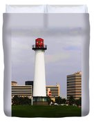 Lions Lighthouse For Sight Duvet Cover