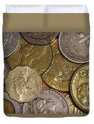 Money Money Money Duvet Cover