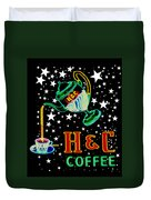 Out Of This World Coffee Duvet Cover