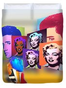 Pop Art Pop Up Duvet Cover