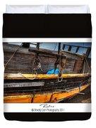 Relics - Edward Birkbeck Duvet Cover