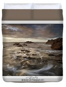 Rocky - At Trearddur Bay Duvet Cover