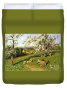 Spring - One Of A Set Of The Four Seasons  Duvet Cover