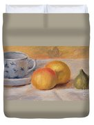 Still Life With Blue Cup Nature Morte A La Tasse Bleue Duvet Cover