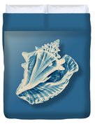 X-ray Of A Conch Shell Duvet Cover