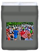 0001 Buffalo Marathon Series 2012  Duvet Cover