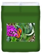 001 Making Things New Via The Butterfly Series Duvet Cover