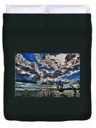 001 Peace Bridge Series II Beautiful Skies Duvet Cover