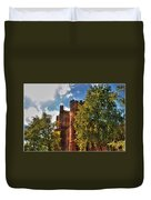 001 The 74th Regimental Armory In Buffalo New York Duvet Cover