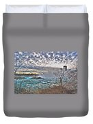 0018 View Of Horseshoe Falls From Terrapin Point Series Duvet Cover