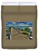 002 Peace Bridge Series II Beautiful Skies Duvet Cover