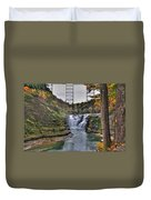 0024 Letchworth State Park Series Duvet Cover
