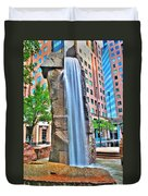 003 Fountain Plaza  Duvet Cover