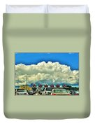 003 Grand Island Bridge Series  Duvet Cover