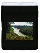 003 Niagara Gorge Trail Series  Duvet Cover