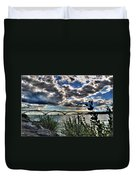 003 Peace Bridge Series II Beautiful Skies Duvet Cover