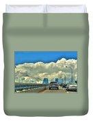 004 Grand Island Bridge Series  Duvet Cover