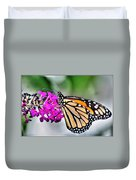 004 Making Things New Via The Butterfly Series Duvet Cover