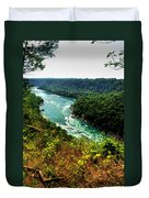 004 Niagara Gorge Trail Series  Duvet Cover