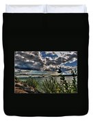 004 Peace Bridge Series II Beautiful Skies Duvet Cover