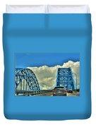 005 Grand Island Bridge Series  Duvet Cover
