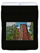005 The 74th Regimental Armory In Buffalo New York Duvet Cover