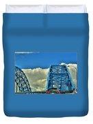 006 Grand Island Bridge Series Duvet Cover