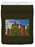 006 The 74th Regimental Armory In Buffalo New York Duvet Cover