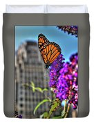 008 Making Things New Via The Butterfly Series Duvet Cover