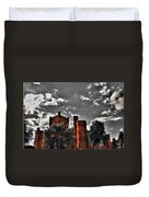 008 The 74th Regimental Armory In Buffalo New York Duvet Cover