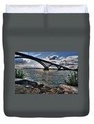 009  Peace Bridge Series II Beautiful Skies Duvet Cover