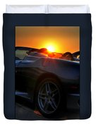 01 Ferrari Sunset Duvet Cover