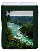 011 Niagara Gorge Trail Series  Duvet Cover