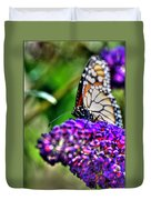 012 Making Things New Via The Butterfly Series Duvet Cover
