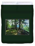 012a Niagara Gorge Trail Series  Duvet Cover
