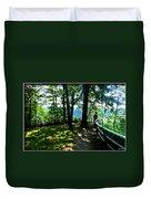 012b Niagara Gorge Trail Series  Duvet Cover