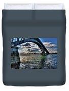013 Peace Bridge Series II Beautiful Skies Duvet Cover