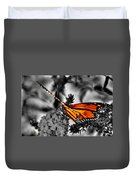 014 Making Things New Via The Butterfly Series Duvet Cover