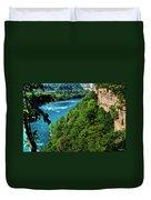 014 Niagara Gorge Trail Series  Duvet Cover