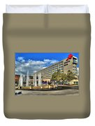 014 Wakening Architectural Dynamics Duvet Cover