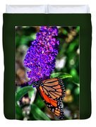 015 Making Things New Via The Butterfly Series Duvet Cover