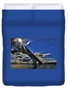 016 Peace Bridge Series II Beautiful Skies Duvet Cover
