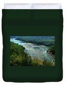 018 Niagara Gorge Trail Series  Duvet Cover